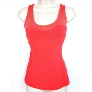 Lucy Women Racerback Tank Top XS Athletic Red